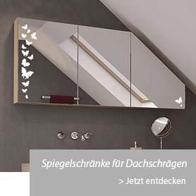 Spiegelschränke für Dachschraegen