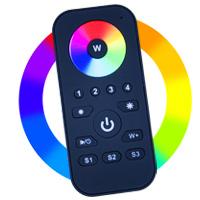24V LED - Fernbedienung RGBWW - Lionidas Design GmbH