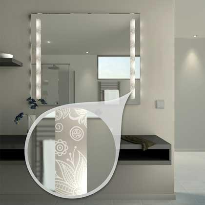 Spiegel mit LED-Stiftsockel