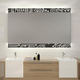 Glas auf Glas Spiegel