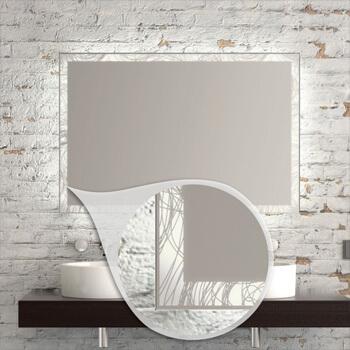 Wandspiegel mit integriertem Licht