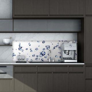 Küchenrückwand aus Glas Airbubble – Bild 2