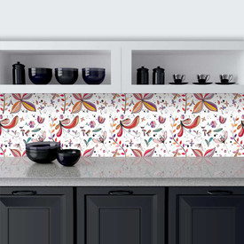 Küchenrückwand aus Glas Blumberg