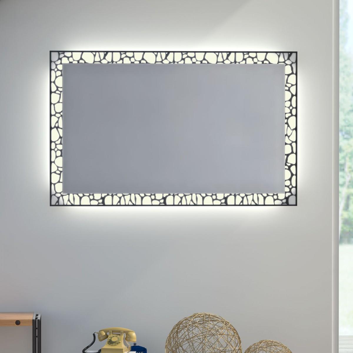 Glas auf Glas Spiegel mit Motiv Ciaroc