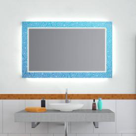 Design Effekt Spiegel Blue Vintage