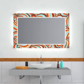 Design Effekt Spiegel Crazy Woodstock