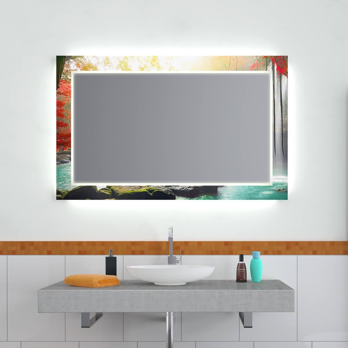 Design Effekt Spiegel Kaskade