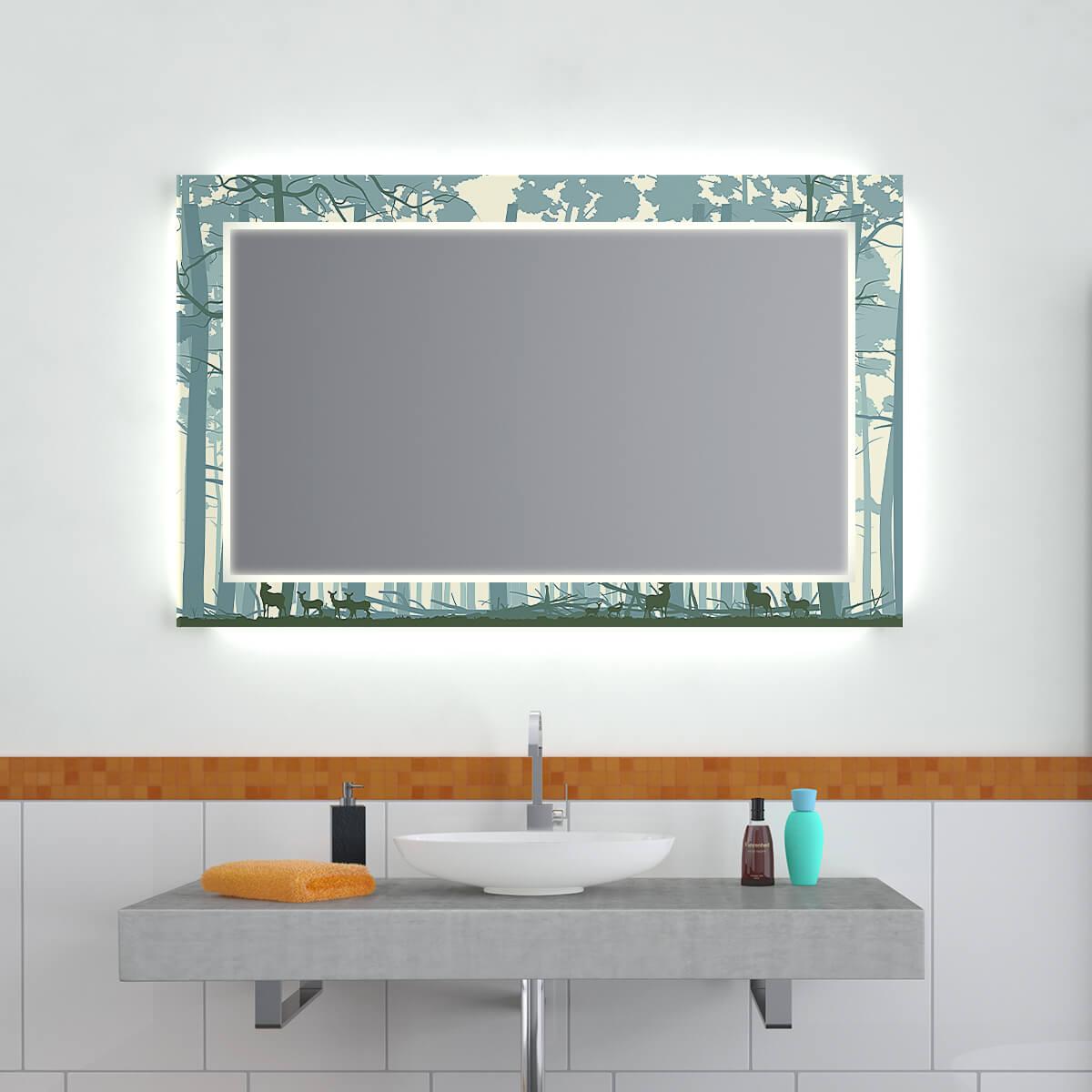 Design Effekt Spiegel Borealis Green