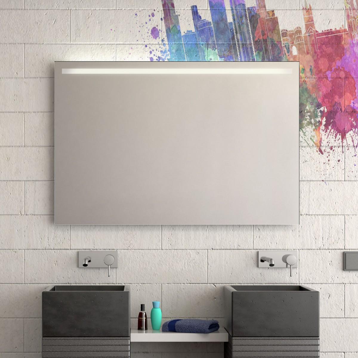 beleuchteter badspiegel weron 300871181. Black Bedroom Furniture Sets. Home Design Ideas