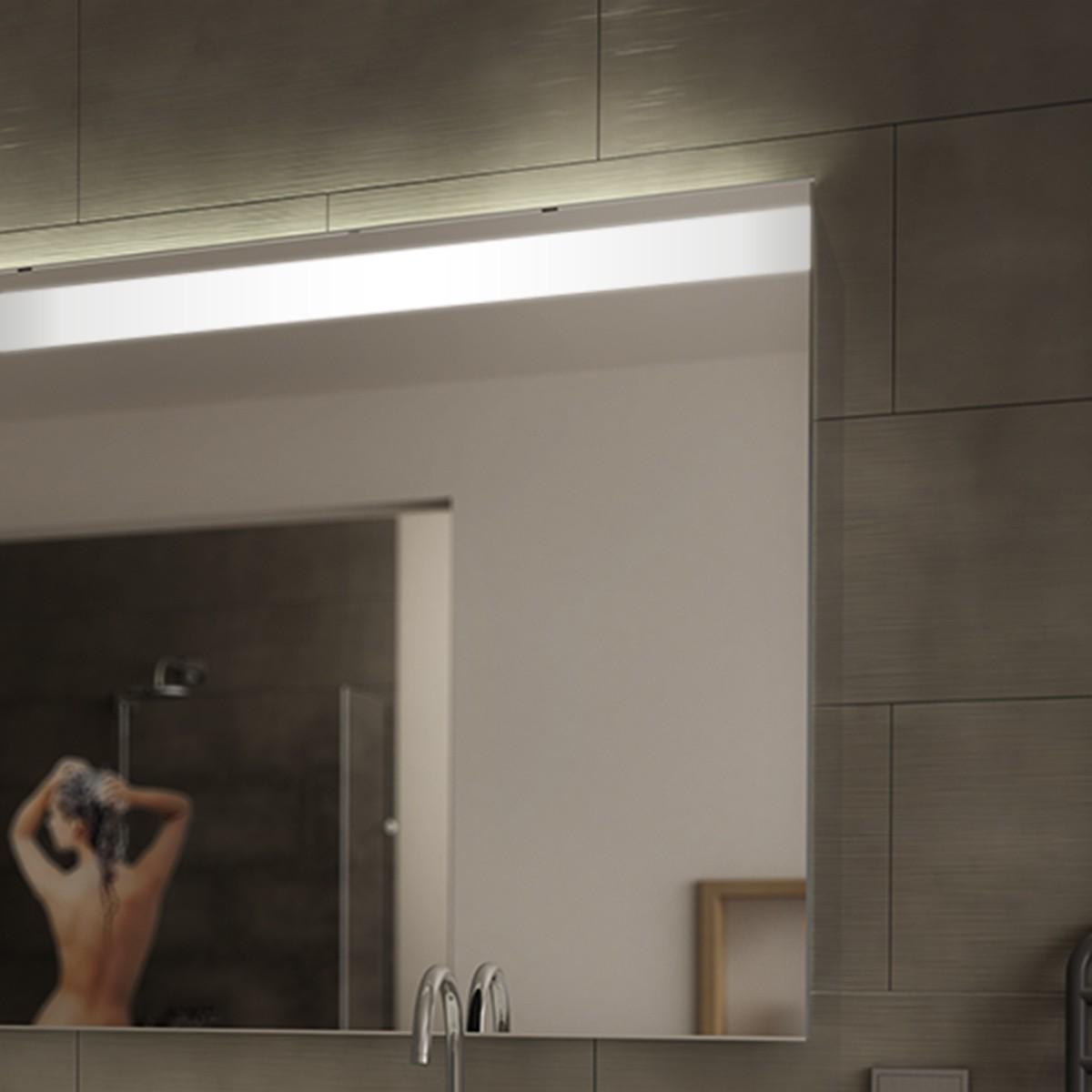 wandspiegel mit beleuchtung zesah 300871281. Black Bedroom Furniture Sets. Home Design Ideas