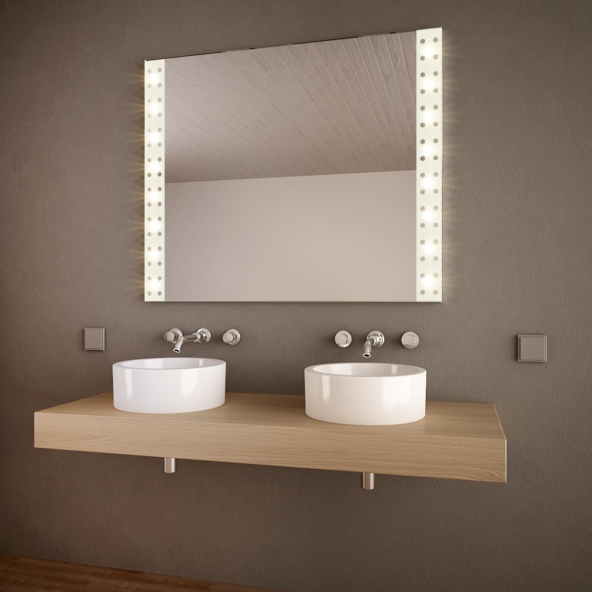 Badezimmerspiegel mit Licht Joliet