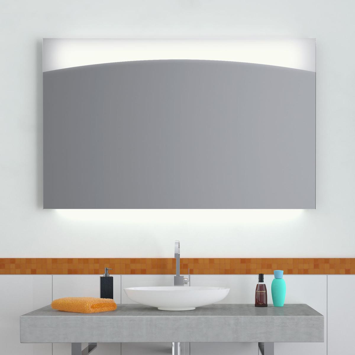 Badezimmerspiegel mit Beleuchtung Toledo 300871720