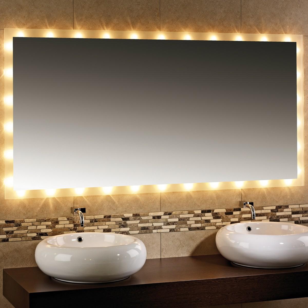 Wandspiegel Badspiegel Ibiza