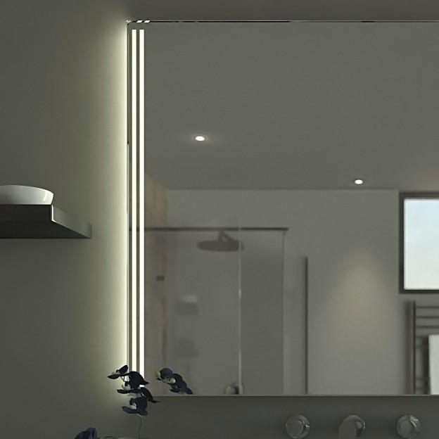 beleuchteter spiegel elmo 989700066. Black Bedroom Furniture Sets. Home Design Ideas