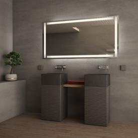 Badezimmerspiegel beleuchtet Disegno