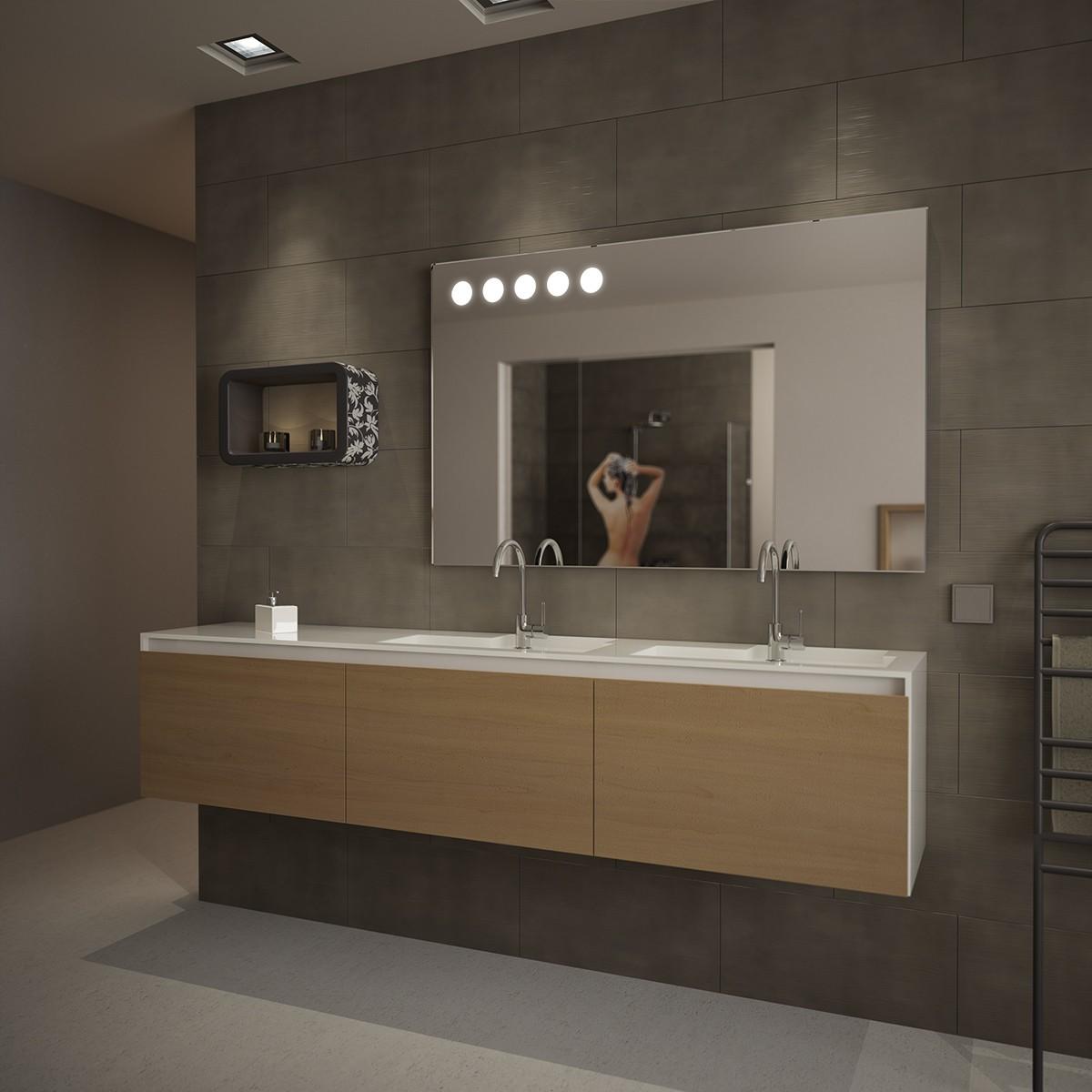 Badezimmerspiegel Maßanfertigung Ponto