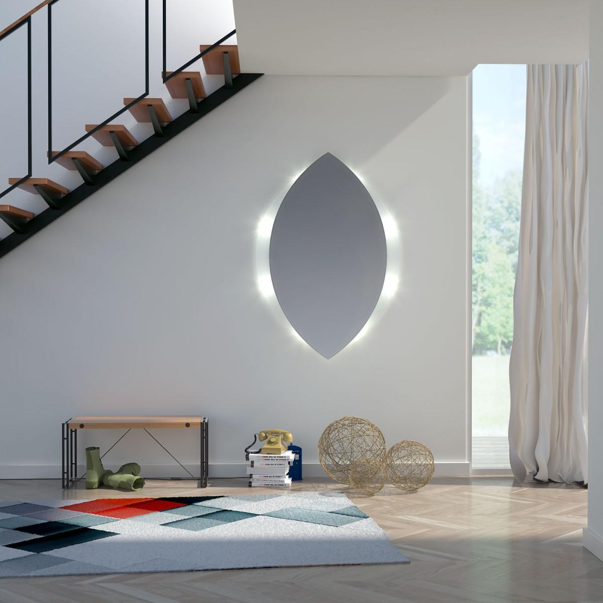 glas auf glas spiegel mit motiv topas 989702411. Black Bedroom Furniture Sets. Home Design Ideas