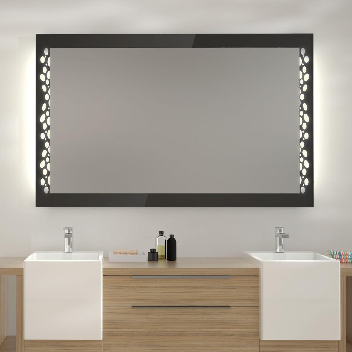 Badspiegel mit Beleuchtung Jevas
