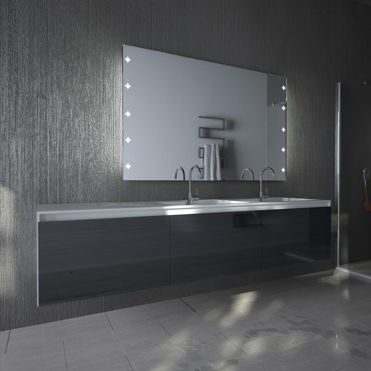 Beleuchteter Badezimmerspiegel Starlight