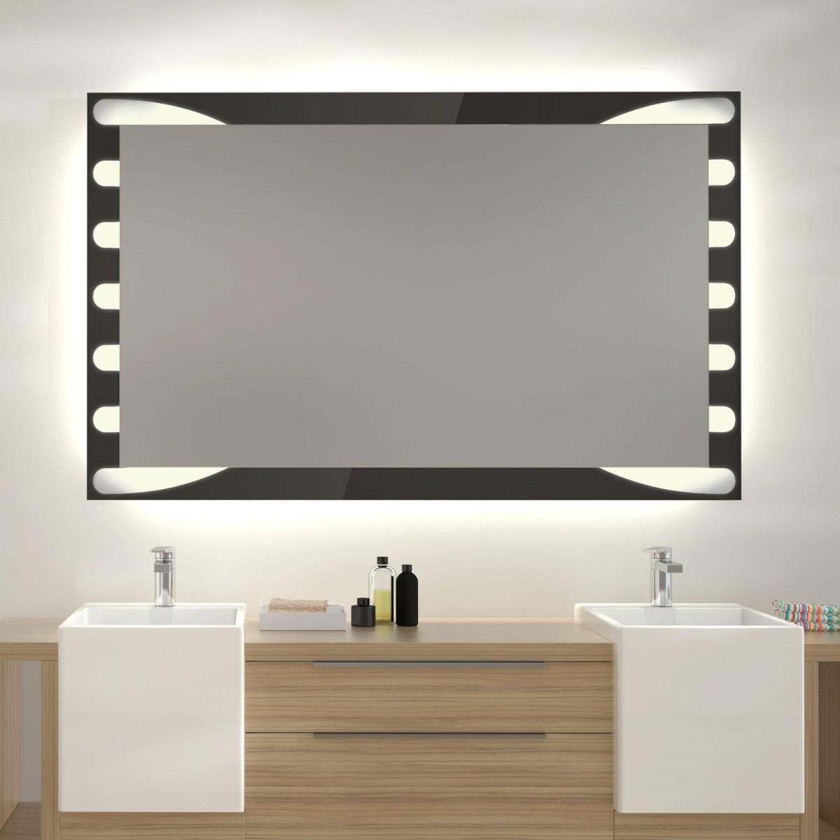 Glas auf Glas Spiegel mit Motiv Bravour