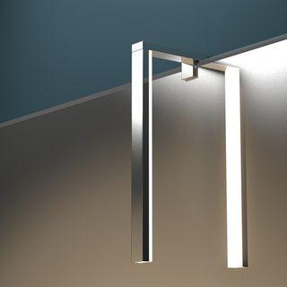 Beleuchteter Wandspiegel mit Leuchte Amaya – Bild 4