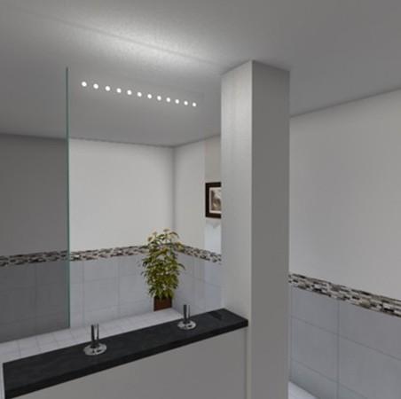 Spiegel Raumteiler Leddy