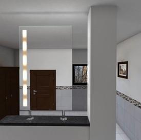 Spiegel Raumteiler Bogota