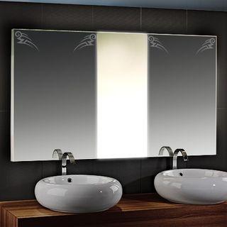Beleuchteter Spiegel mit Motiv Runner – Bild 1