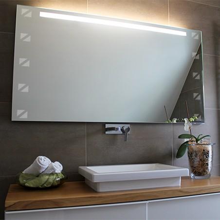 Spiegel mit Motiv Quadra