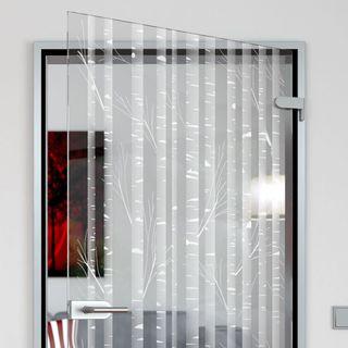 Glastür Bambus – Bild 2