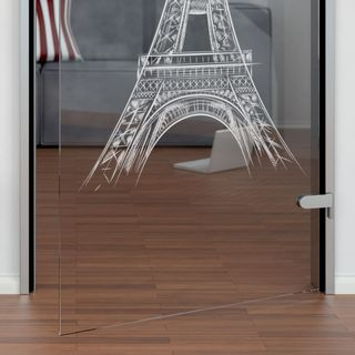 Glastür Eiffelturm – Bild 3