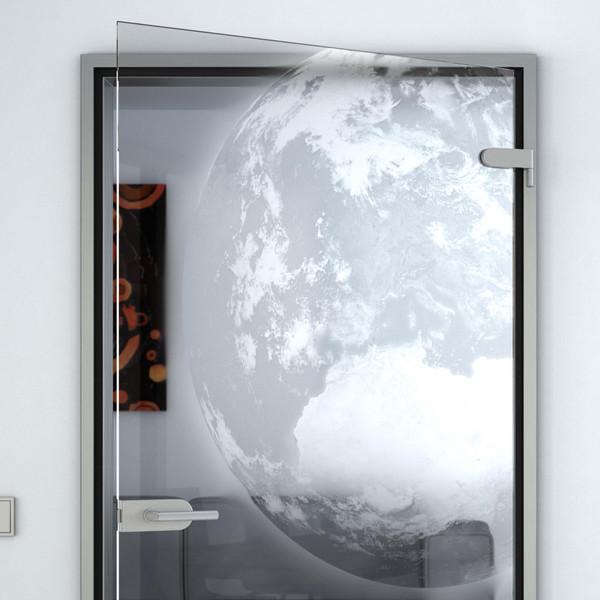 Produktbild 2 Glastür gelasert mit Motiv Erde by Lionidas - Die Erde von oben - aus dem Welltall gesehen ist unser Planet das blaue Wunder im Weltall.