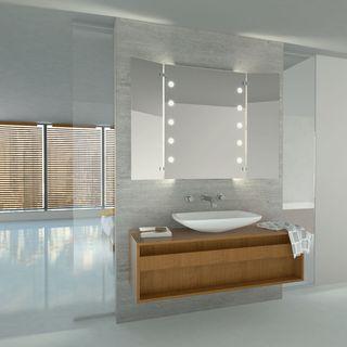 Beleuchteter Wandspiegel Solby – Bild 2