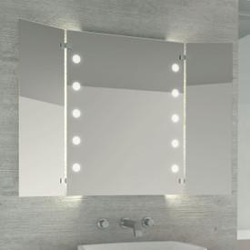 Beleuchteter Wandspiegel Solby