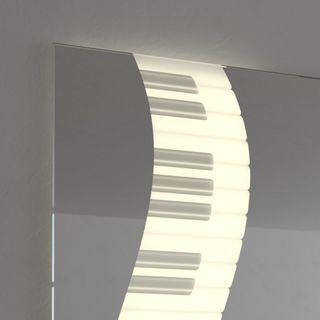 Teil-Lack-Badspiegel Jazz – Bild 3