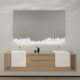 Wandspiegel LED Equalized