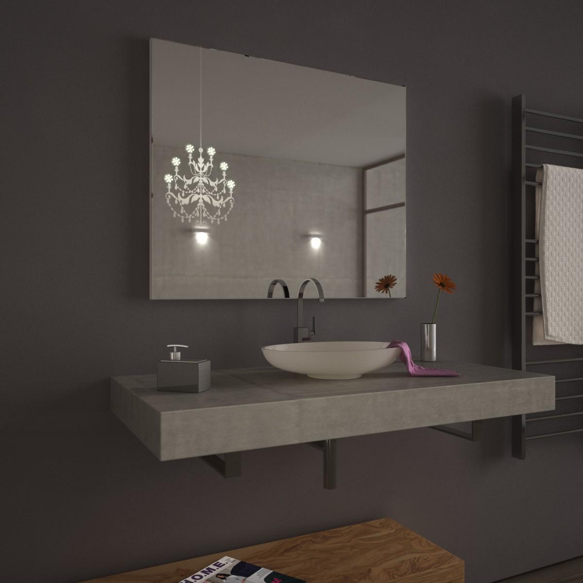 Badezimmerspiegel mit beleuchtung kronach 989704085 - Badezimmerspiegel ohne beleuchtung ...