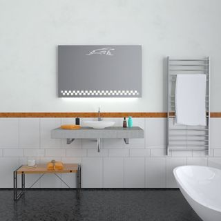 Badspiegel mit Beleuchtung Hockenheim – Bild 2