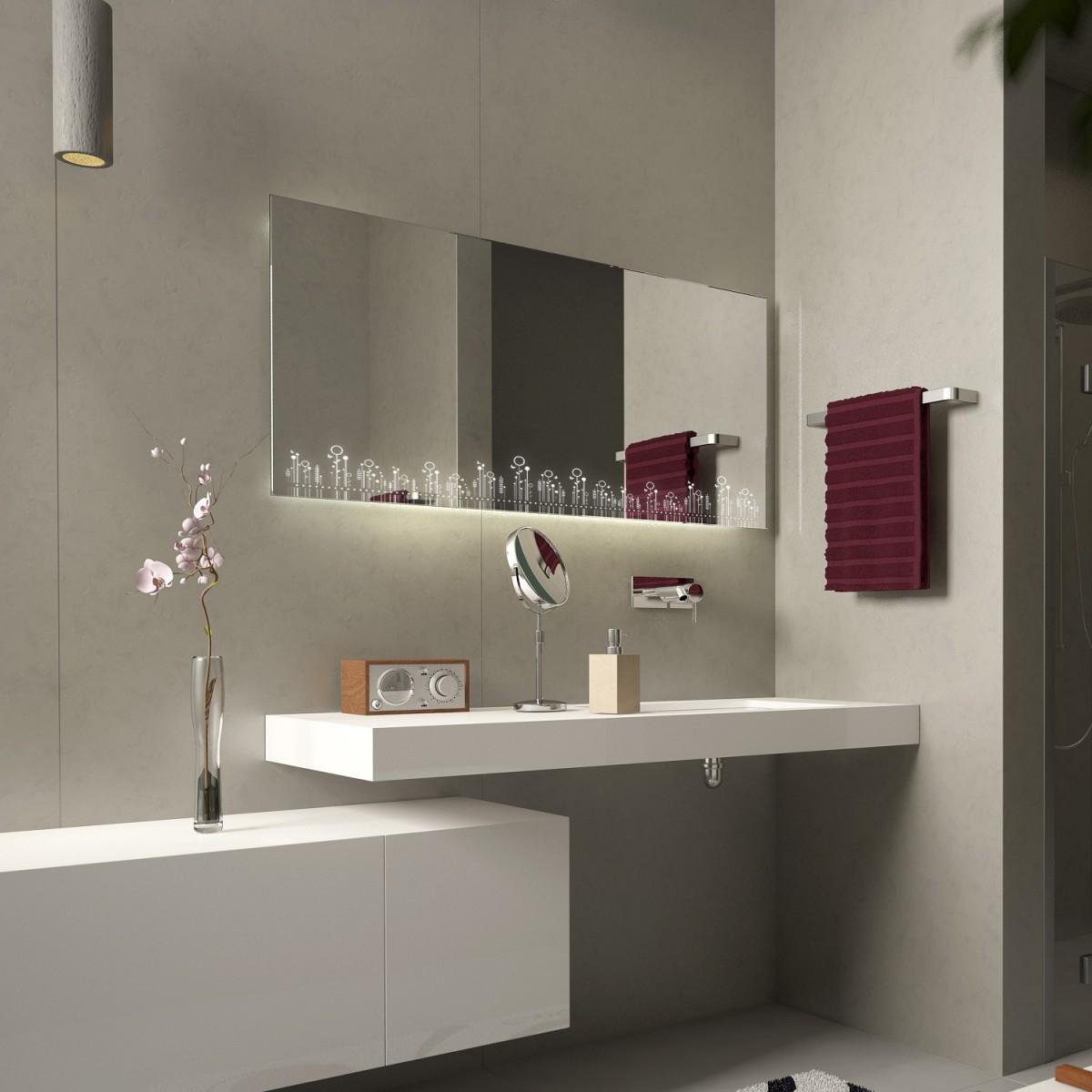 Wandspiegel LED Gladbeck
