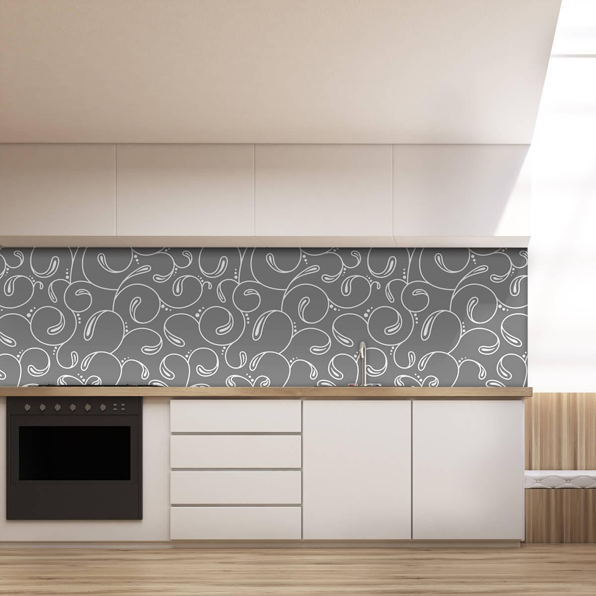 k chenr ckwand aus glas abstrakta 989704221. Black Bedroom Furniture Sets. Home Design Ideas