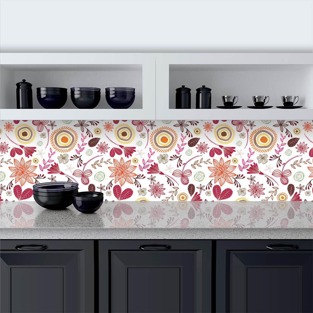 Lackiertes glas küchenrückwand  Küchenrückwand aus Glas Herbstwunder 989704228
