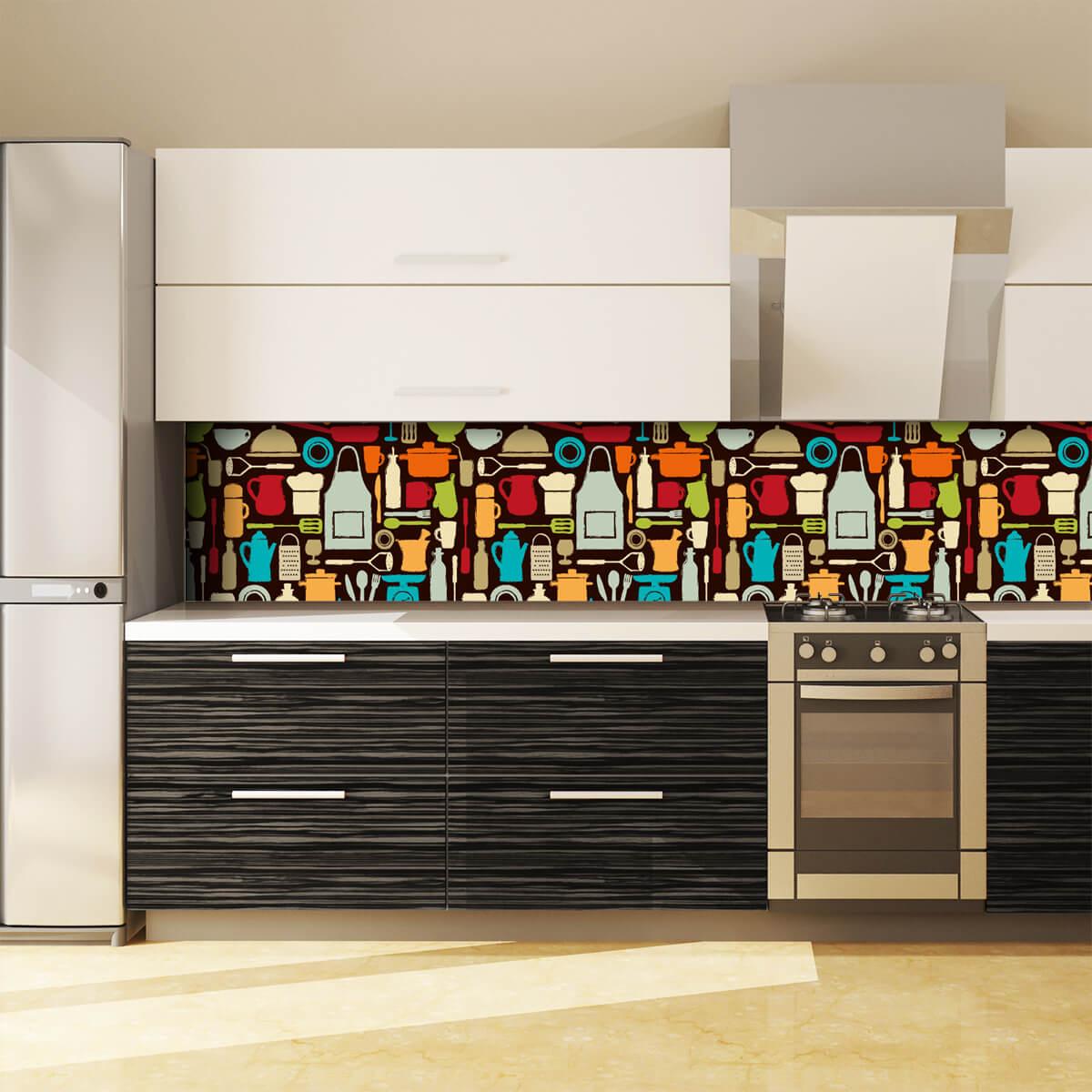 k chenr ckwand aus glas chefkoch 989704270. Black Bedroom Furniture Sets. Home Design Ideas