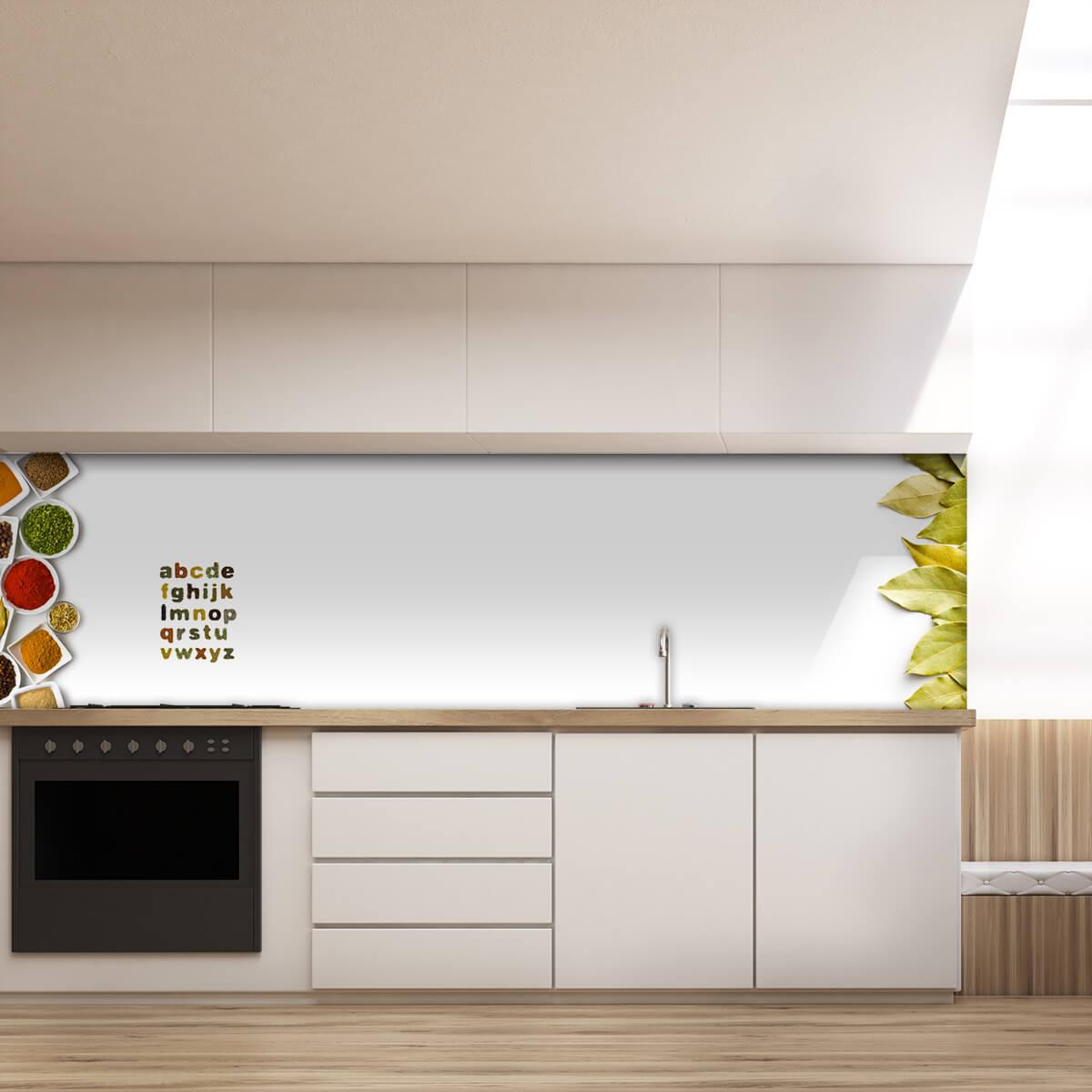 k chenr ckwand aus glas gew rze ii 989704281. Black Bedroom Furniture Sets. Home Design Ideas
