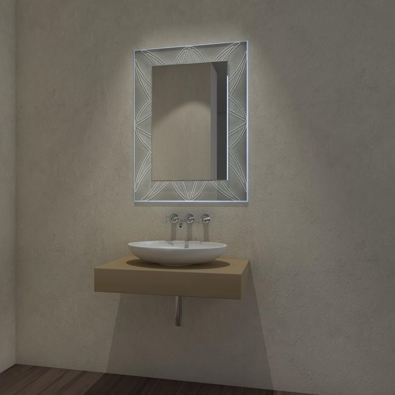 Glas auf Glas LED Ambiente Fluewel