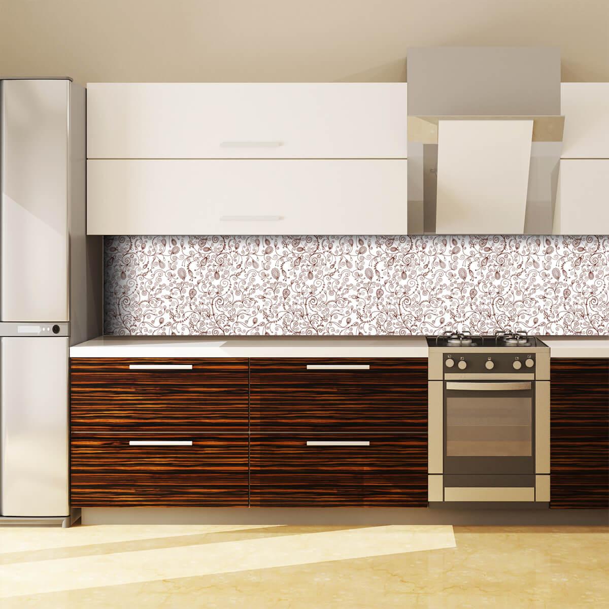 Küchenrückwand aus Glas Filigran 989704886