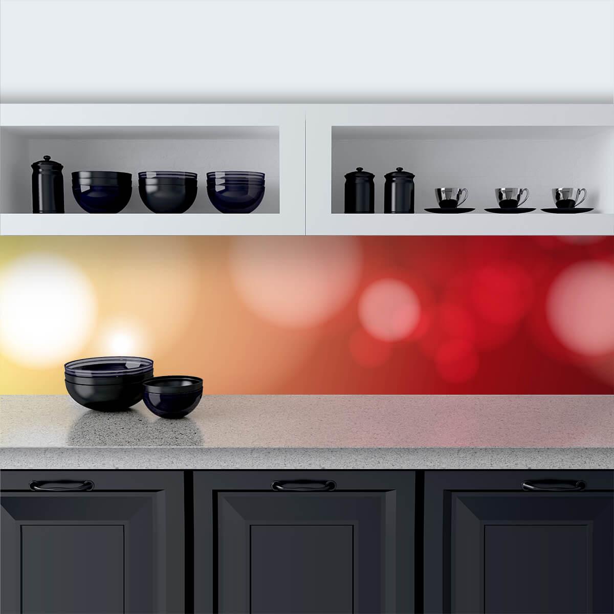Küchenrückwand aus Glas Crossing Color