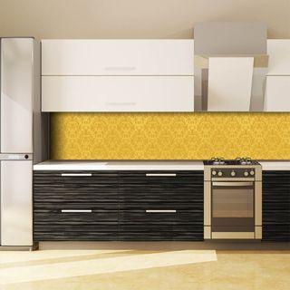 Küchenrückwand aus Glas Golden Ornaments  – Bild 3