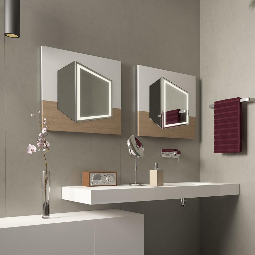 Badspiegel Cubo