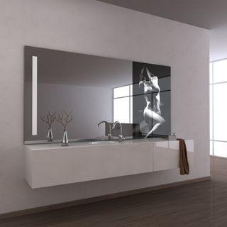 Teil-Lack-Wandspiegel Calau – Bild 1