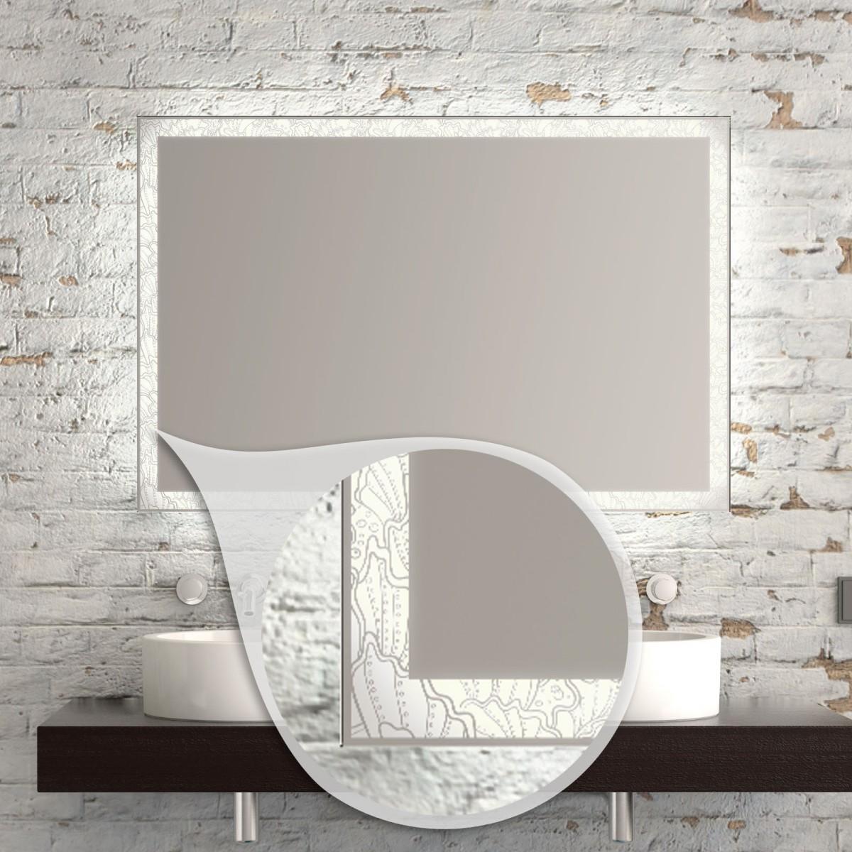 Badspiegel LED Warburg